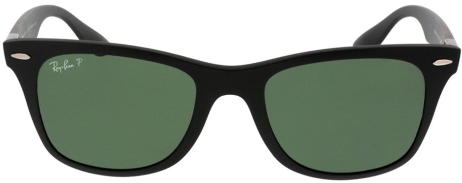 Picture of glasses model Ray-Ban Wayfarer Liteforce RB4195 601S9A 52-20 in angle 0