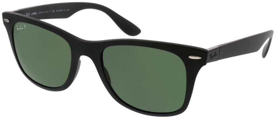 Picture of glasses model Ray-Ban Wayfarer Liteforce RB4195 601S9A 52-20 in angle 330