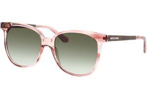 Wood Fellas Sunglasses Moyland curled/smoked rosa 55-17