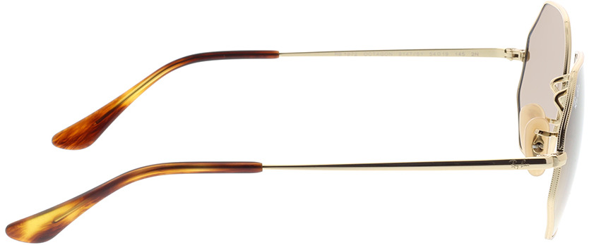 Picture of glasses model Ray-Ban RB1972 914751 54-19 in angle 90