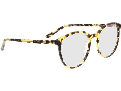 Brille New York-gelb-braun-meliert