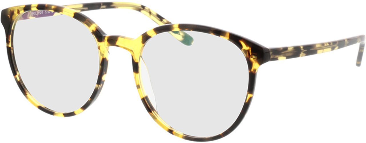Picture of glasses model New York yellow/brown/mottled in angle 330