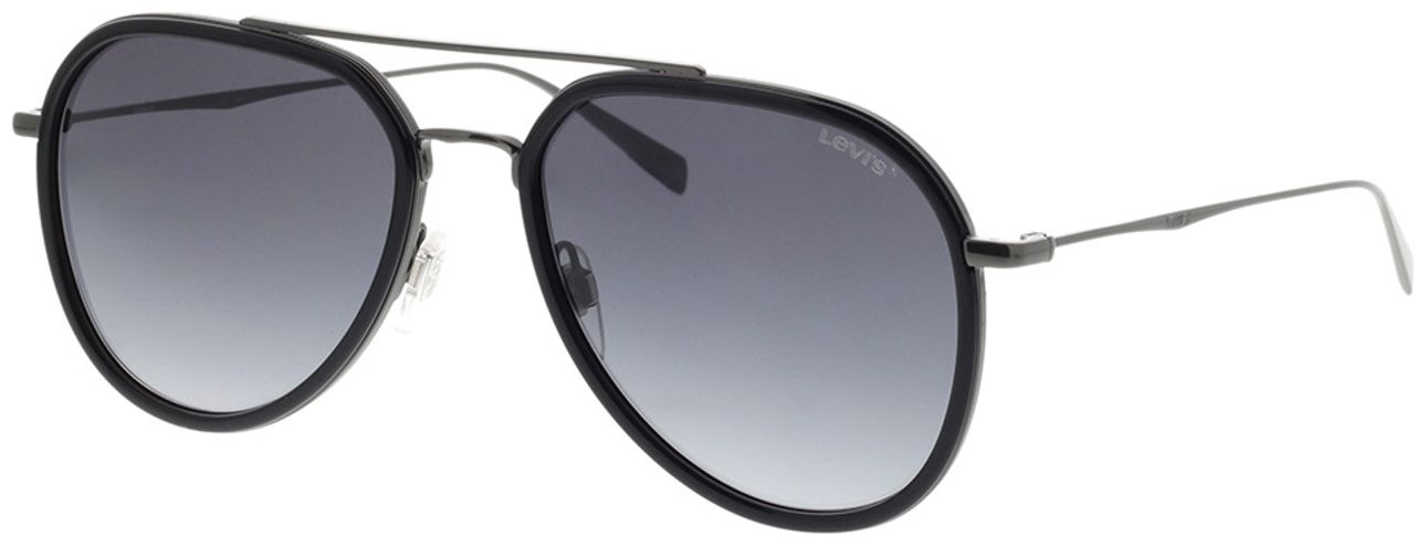 Picture of glasses model Levi's LV 5000/S KJ1 56-17 in angle 330