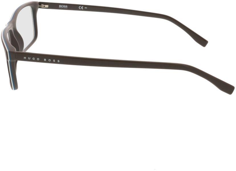 Picture of glasses model Hugo Boss BOSS 0765 QHK 55-16 in angle 270