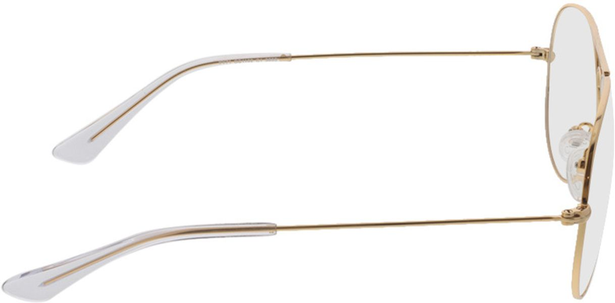 Picture of glasses model Savannah-gold in angle 90