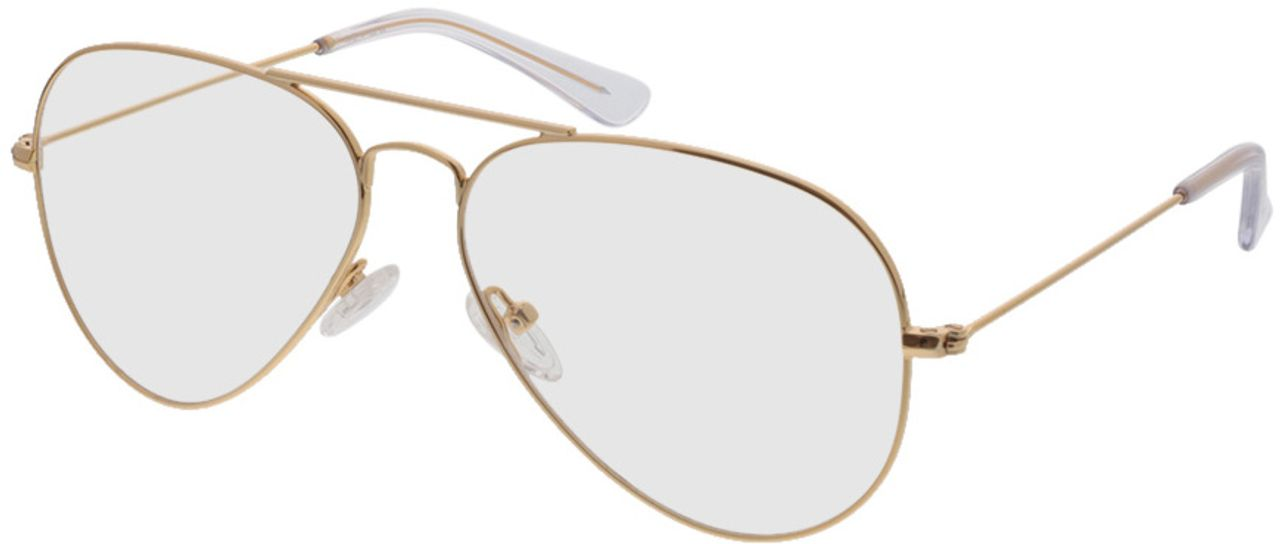 Picture of glasses model Savannah-gold in angle 330