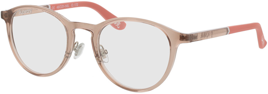 Picture of glasses model Superdry SDO Alby 172 grey/orange 48-21 in angle 330