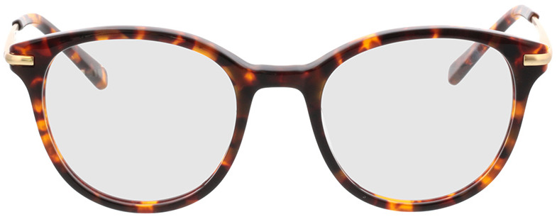 Picture of glasses model Sienna-braun-meliert/gold in angle 0