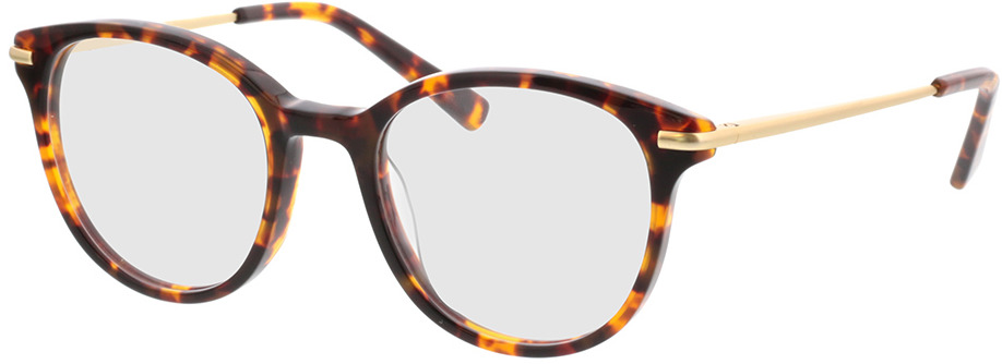 Picture of glasses model Sienna-braun-meliert/gold in angle 330