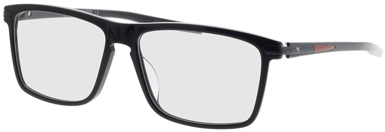 Picture of glasses model Puma PU0257O-001 56-15 in angle 330