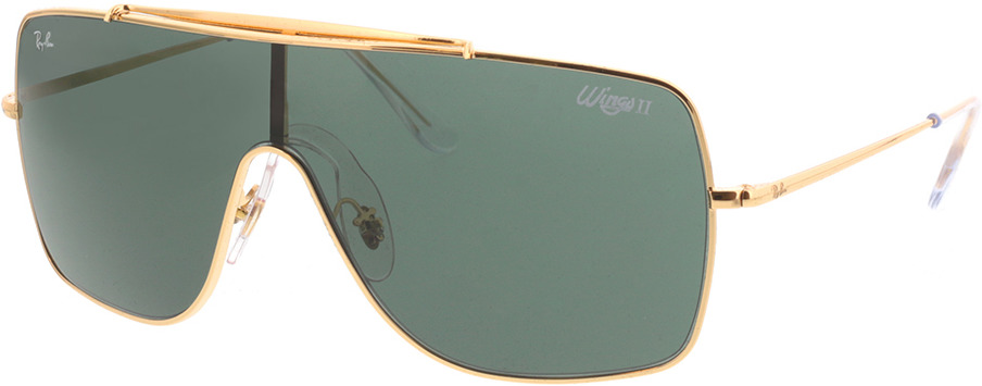Picture of glasses model Ray-Ban RB3697 905071 135-0 in angle 330