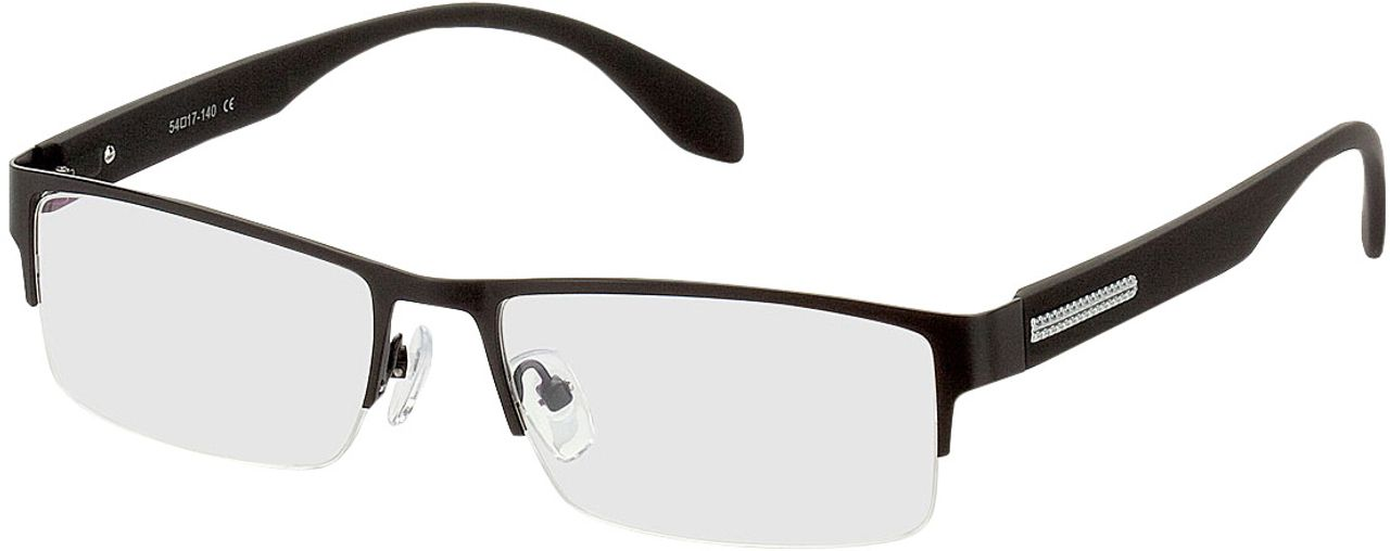 Picture of glasses model Stanley black in angle 330