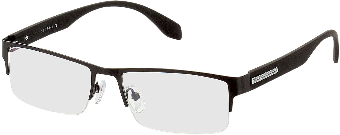 Picture of glasses model Stanley-schwarz in angle 330