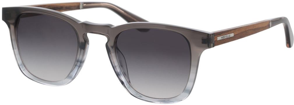 Picture of glasses model Wood Fellas Sunglasses Mindset macassar/black 48-24 in angle 330