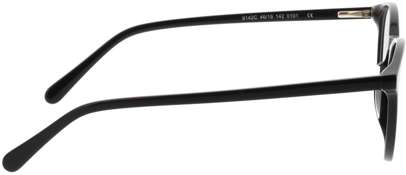Picture of glasses model Moneo-schwarz in angle 90