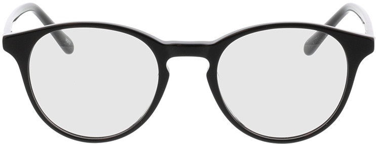 Picture of glasses model Moneo-schwarz in angle 0