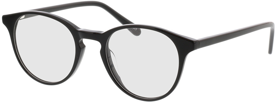 Picture of glasses model Moneo-schwarz in angle 330