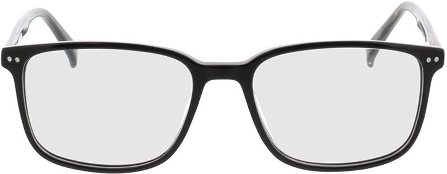 Picture of glasses model Pico-schwarz in angle 0