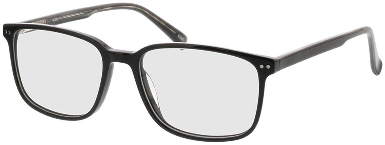 Picture of glasses model Pico-schwarz in angle 330