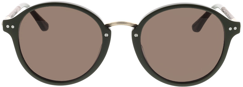 Picture of glasses model Wood Fellas Sunglasses Grünwald macassar/olive 50-21 in angle 0