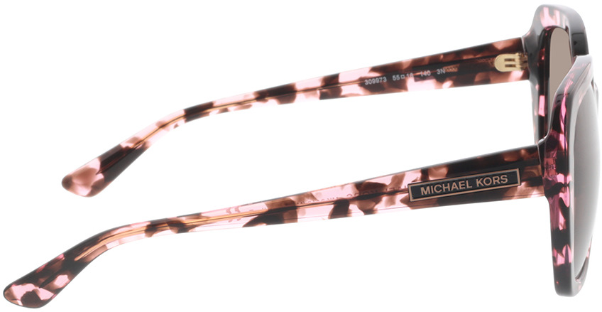 Picture of glasses model Michael Kors MK2140 309973 55-18 in angle 90