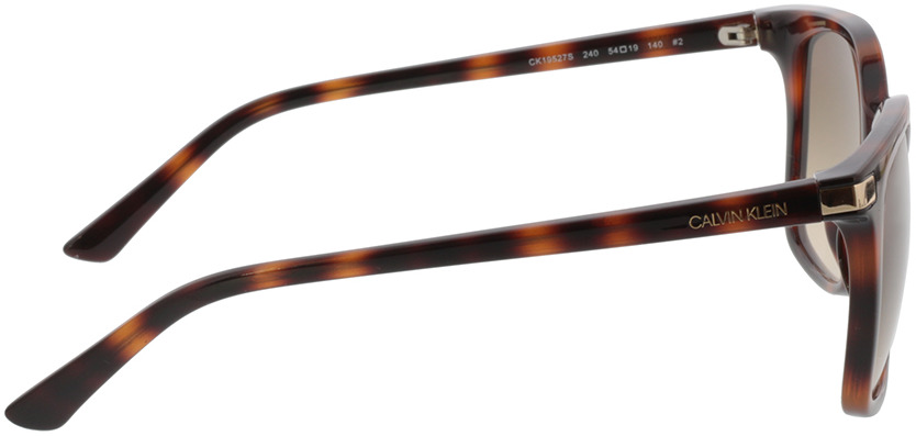 Picture of glasses model Calvin Klein CK19527S 240 54-19 in angle 90
