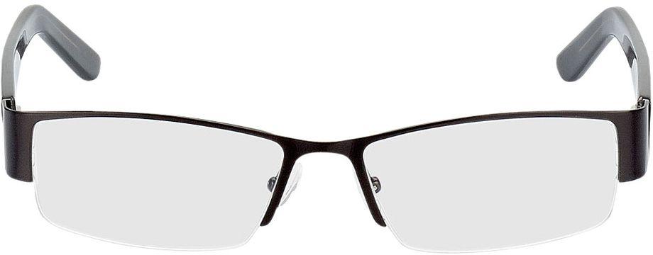 Picture of glasses model Billund-schwarz in angle 0