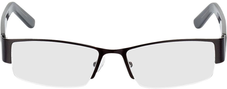 Picture of glasses model Billund-preto in angle 0