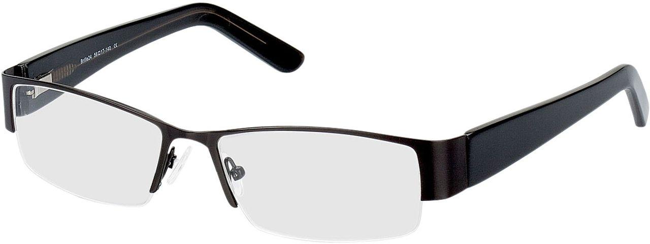 Picture of glasses model Billund-schwarz in angle 330