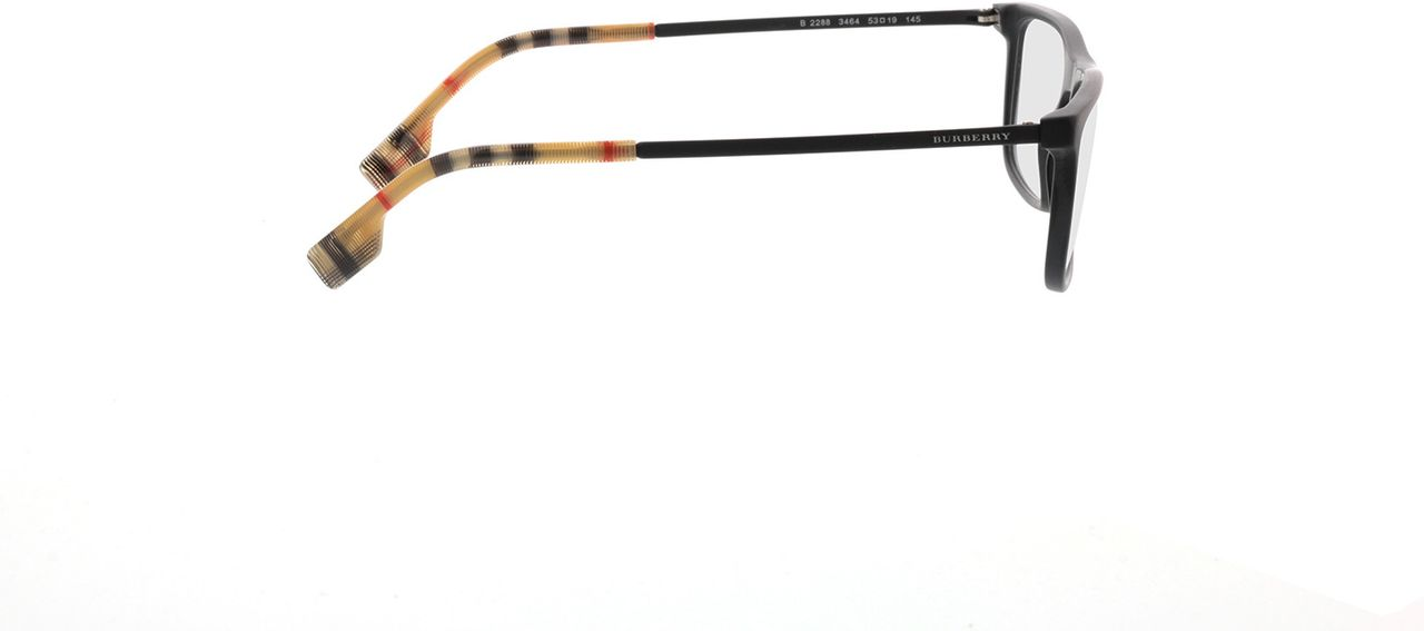 Picture of glasses model Burberry BE2288 3464 53-19 in angle 90
