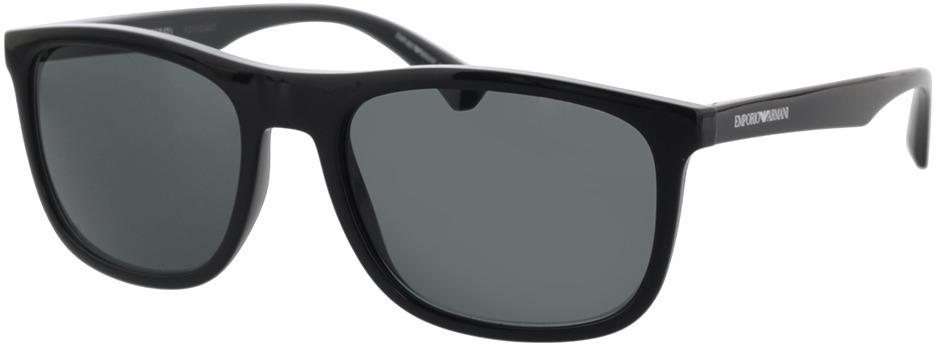 Picture of glasses model Emporio Armani EA4158 588987 57-19 in angle 330