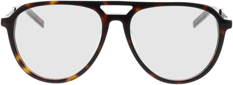 Picture of glasses model Hugo HG 1093 086 55-16 in angle 0