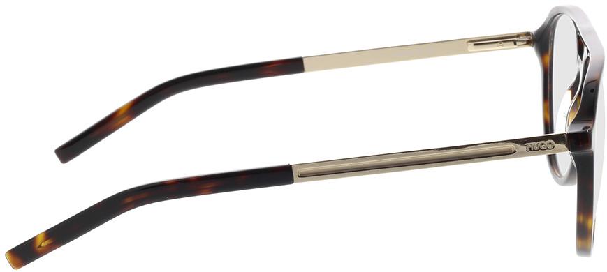 Picture of glasses model Hugo HG 1093 086 55-16 in angle 90