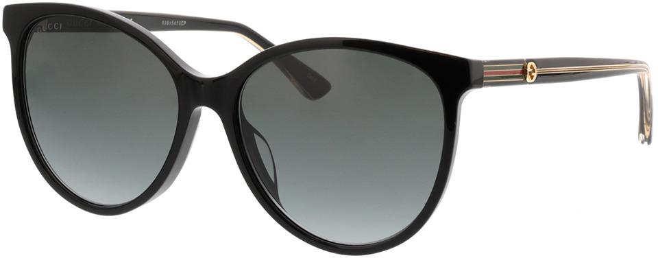 Picture of glasses model Gucci GG0377SK-001 57-16