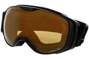 Skibrille Luna schwarz/grau M