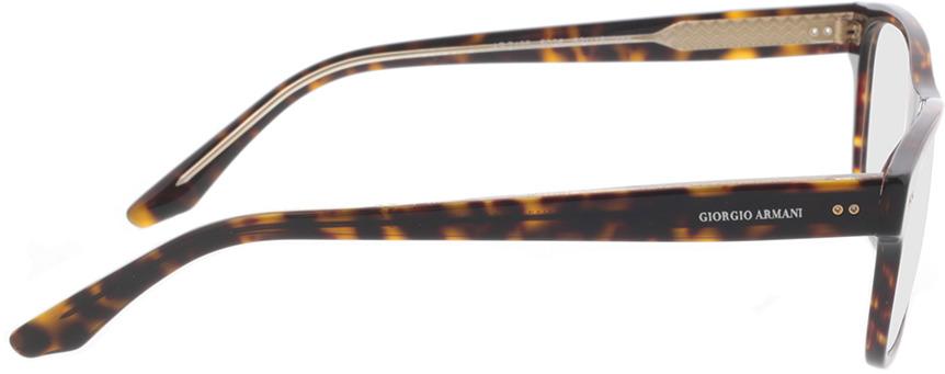 Picture of glasses model Giorgio Armani AR7195 5026 53-18 in angle 90