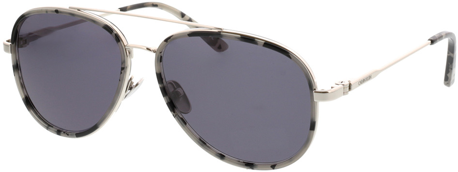 Picture of glasses model Calvin Klein CK38104 071 57-15 in angle 330