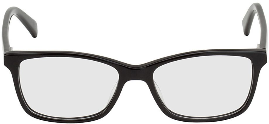 Picture of glasses model Brüssel-black in angle 0
