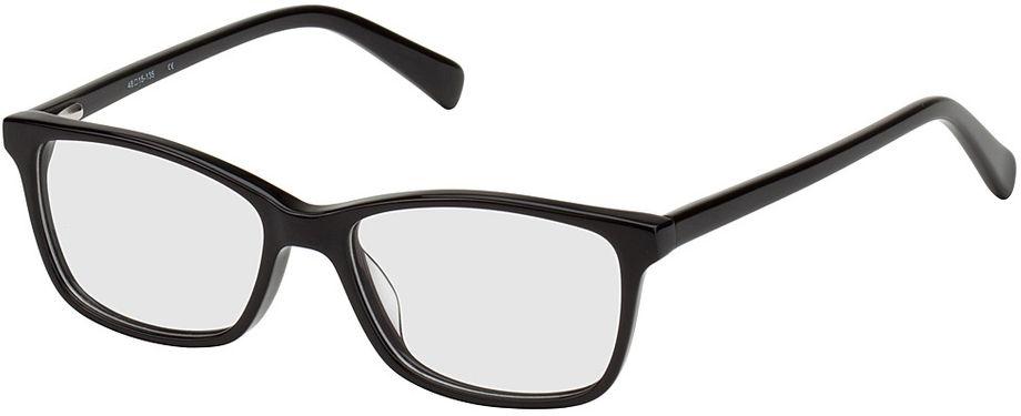 Picture of glasses model Brüssel-black in angle 330