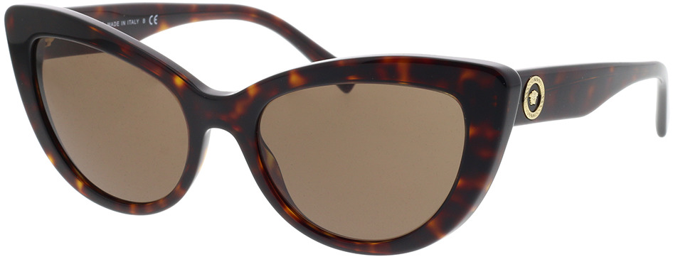 Picture of glasses model Versace VE4388 108/73 54-18 in angle 330