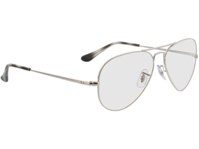 Brille Ray-Ban Aviator RX6489 2501 55-14