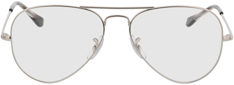 Picture of glasses model Ray-Ban Aviator RX6489 2501 55-14 in angle 0