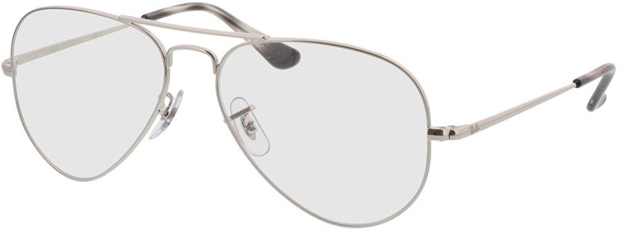 Picture of glasses model Ray-Ban Aviator RX6489 2501 55-14 in angle 330