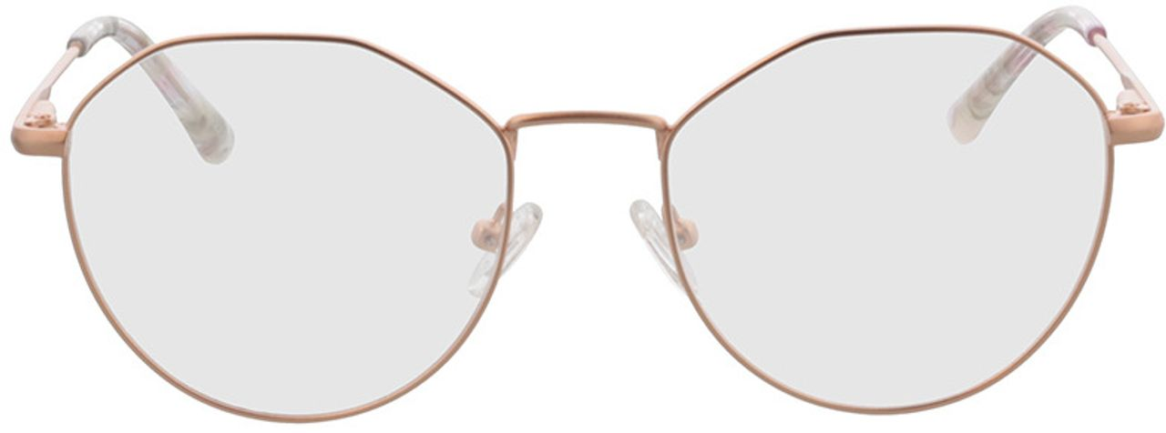 Picture of glasses model Mabel-rosegold in angle 0