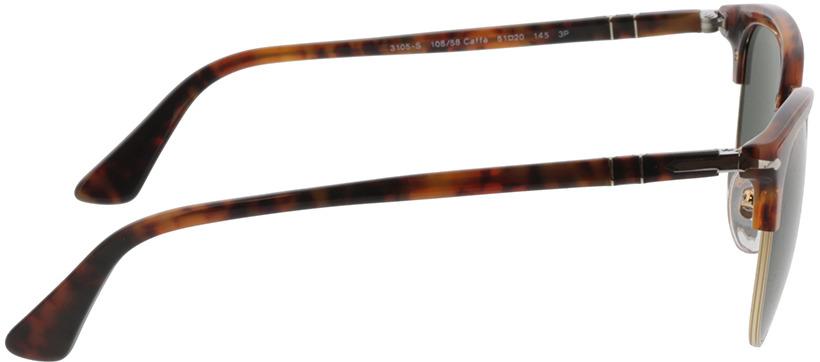 Picture of glasses model Persol PO3105S 108/58 51 20 in angle 90