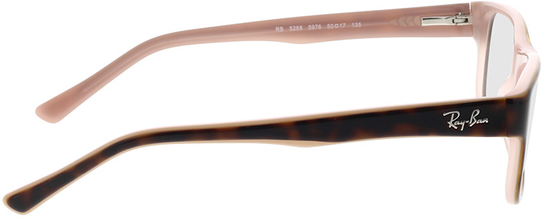 Picture of glasses model Ray-Ban RX5268 5976 50-17 in angle 90