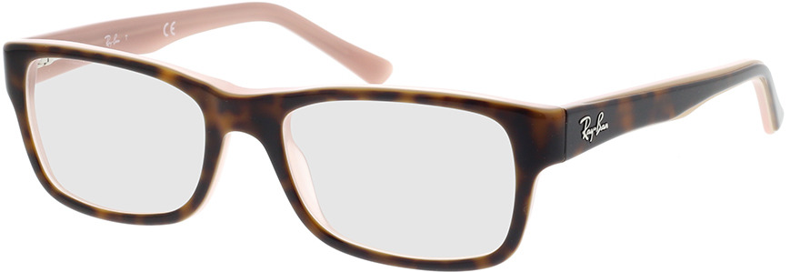 Picture of glasses model Ray-Ban RX5268 5976 50-17 in angle 330