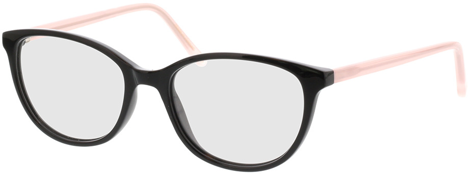 Picture of glasses model Dakota-schwarz in angle 330