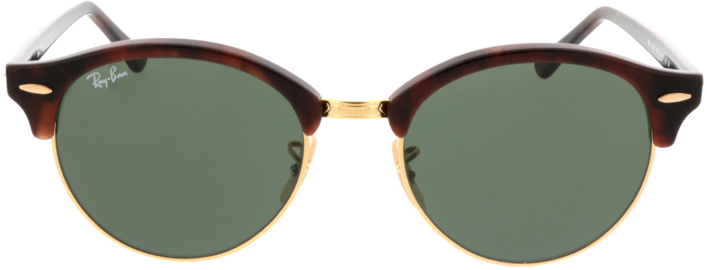 Picture of glasses model Ray-Ban Clubround RB4246 990 51-19 in angle 0