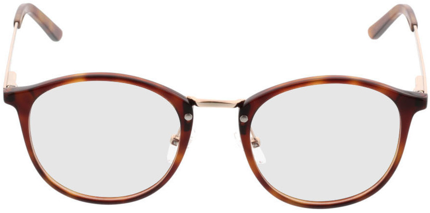 Picture of glasses model Bedford-braun-meliert/gold in angle 0